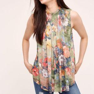 Deletta Epona Floral Swing Top